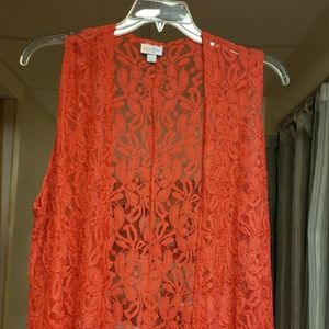 Red joy vest